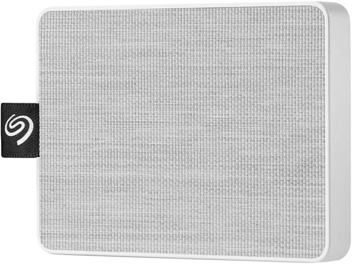 Seagate One Touch - 1TB, bílá