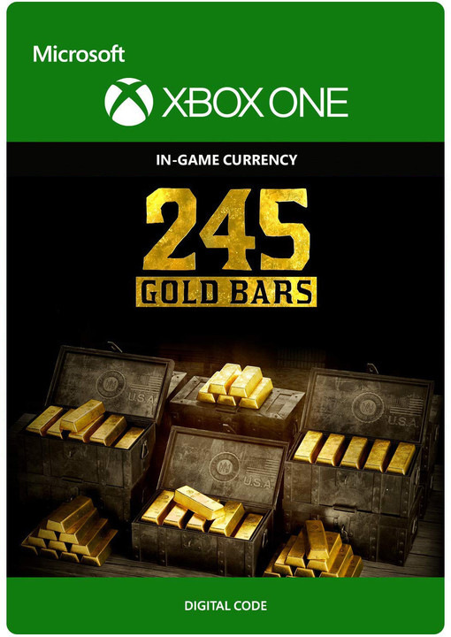 Red Dead Redemption 2 - 245 Gold Bars (Xbox ONE) - elektronicky