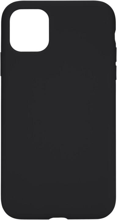 Tactical silikonový kryt Velvet Smoothie pro Apple iPhone 11, černá