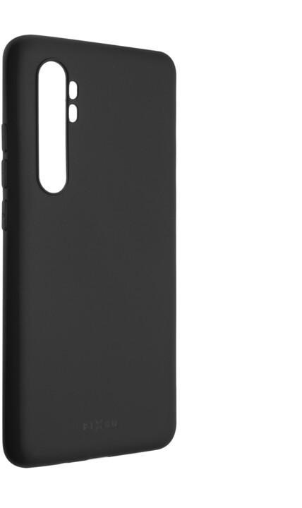 FIXED pogumovaný kryt Story pro Xiaomi Mi Note 10 Lite, šedá