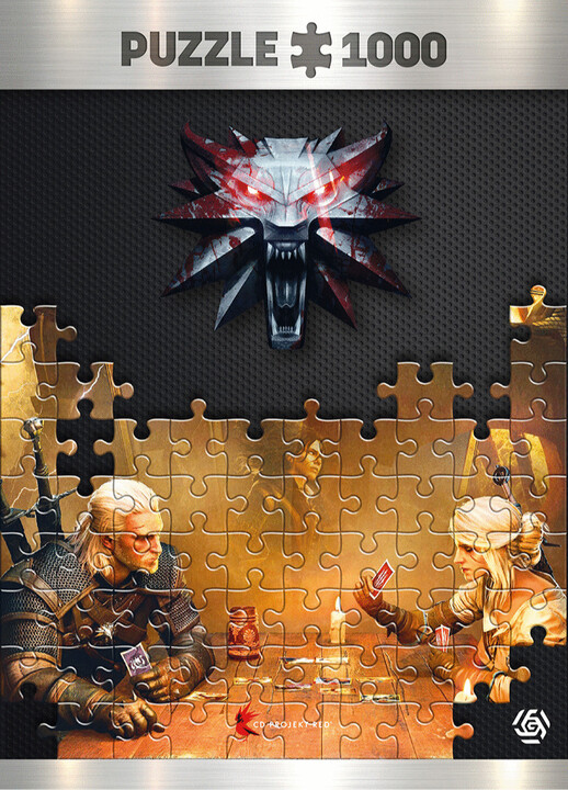 Puzzle Zaklínač - Playing Gwent (Good Loot)