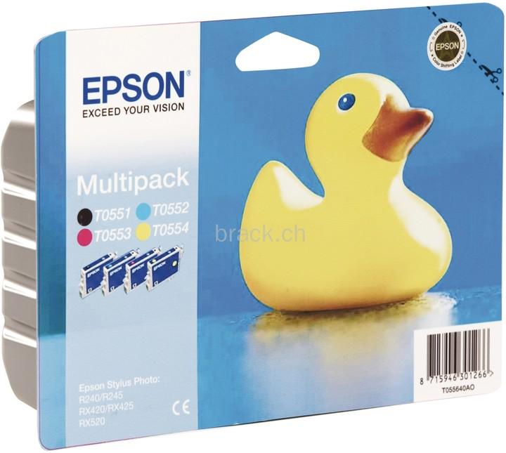 Epson C13T055640, multipack