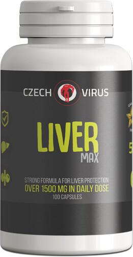 Doplněk stravy Liver MAX