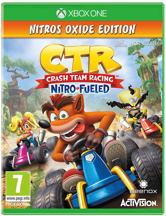 Crash Team Racing: Nitro Fueled - Nitros Oxide Edition (Xbox ONE)