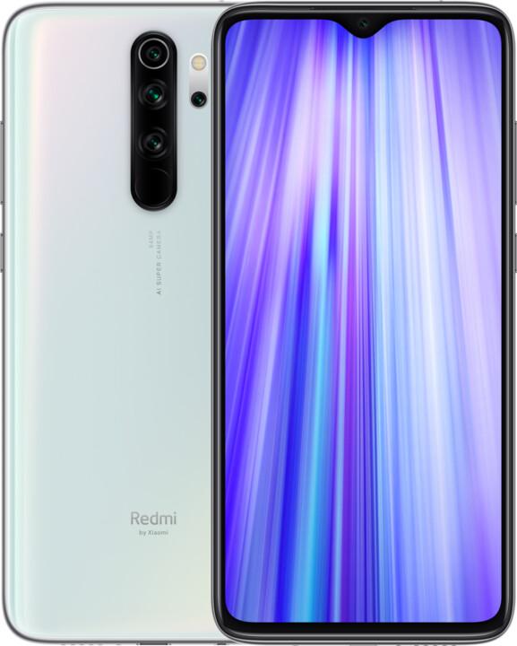 Xiaomi Redmi Note 8 Pro, 6GB/64GB, Pearl White
