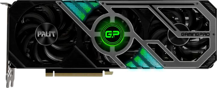 PALiT GeForce RTX3080 GamingProOC, 10GB GDDR6X