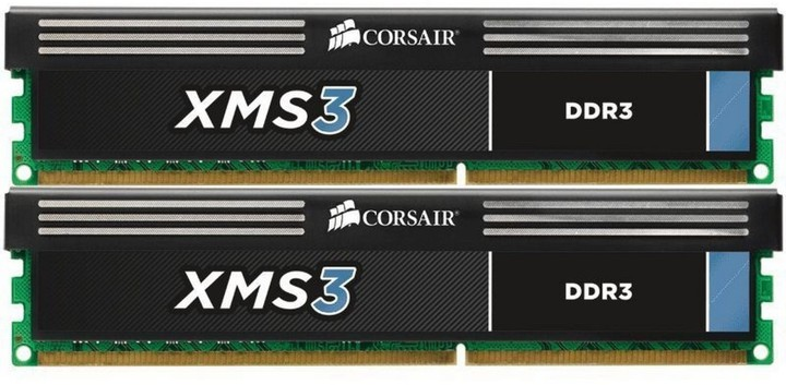 Corsair XMS3 4GB (2x2GB) DDR3 1600