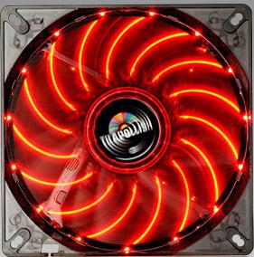 Enermax T.B.Apollish UCTA14N-R, 140mm LED, červená