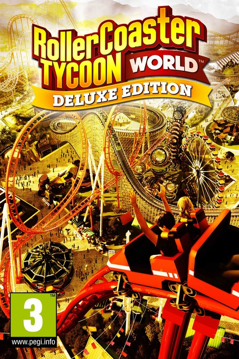 RollerCoaster Tycoon World - Deluxe Edition (PC)