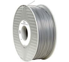 Verbatim tisková struna (filament), ABS, 1,75mm, 1kg, stříbrná - 55016