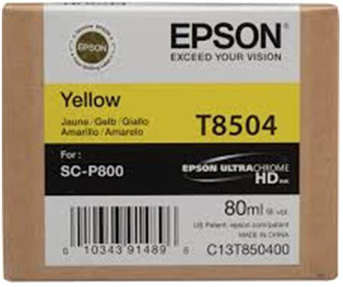 Epson T850400, (80ml), yellow