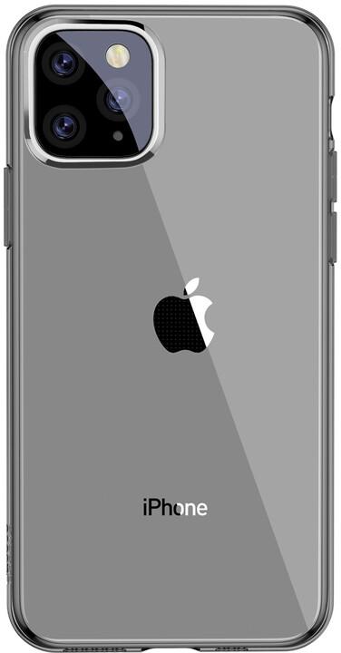 BASEUS Simplicity Series gelový ochranný kryt pro Apple iPhone 11 Pro Max, černá