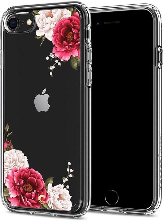 Spigen pouzdro Ciel Cecile pro iPhone 7/8/SE (2020), red floral