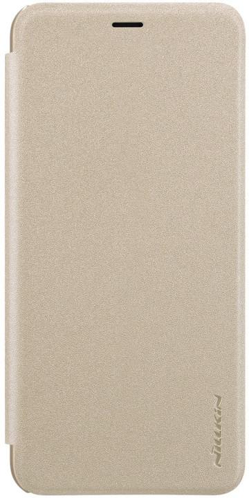 Nillkin Sparkle Folio Pouzdro pro Samsung Galaxy J6 (J600), zlatý