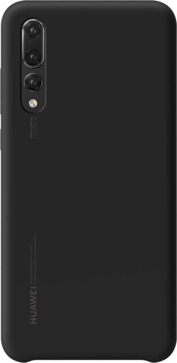 Huawei Silicon Case Pouzdro pro P20 Pro, černá
