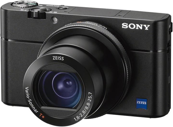 Sony Cybershot DSC-RX100M5A, černá