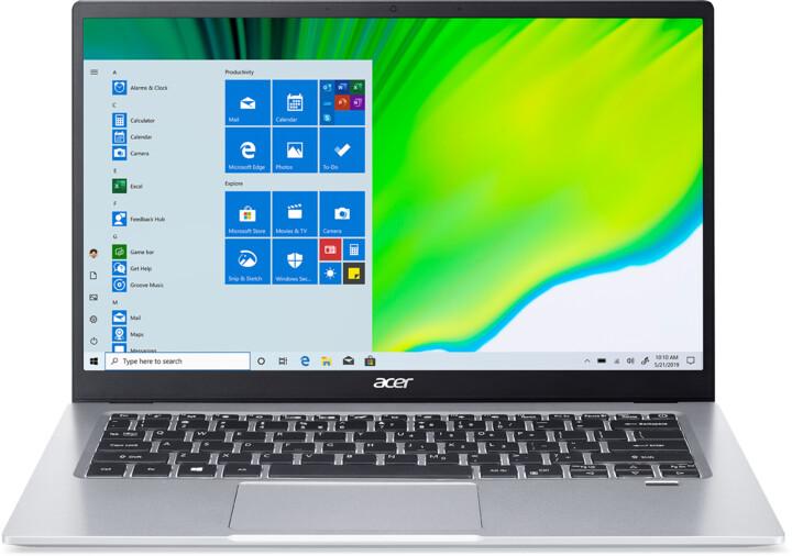 Acer Swift 1 (SF114-33), stříbrná