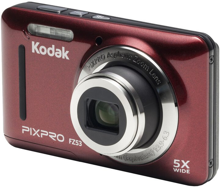 Kodak Friendly zoom FZ53, červená