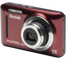 Kodak Friendly zoom FZ53, červená