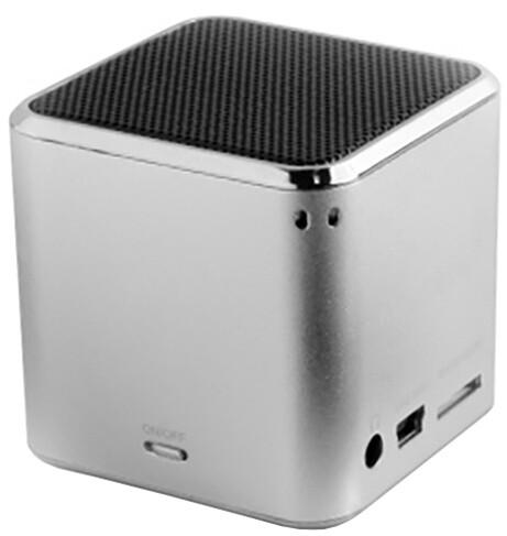 Technaxx Mini MusicMan, stříbrná