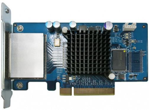 QNAP SAS-6G2E-D - rozšiřující úložná karta SAS 6Gb/s