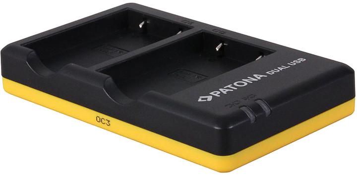Patona foto nabíječka Dual Quick kompatibilní s Canon NB-11L USB