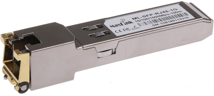 MaxLink SFP metalický modul, Cisco kompatibilní