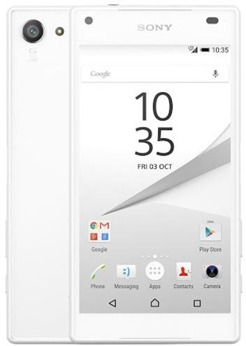 Sony Xperia Z5 Compact, bílá