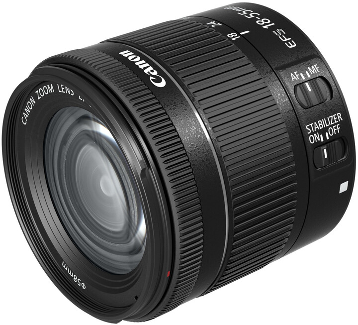 Canon EF-S 18-55 mm f4-5.6 IS STM objektiv