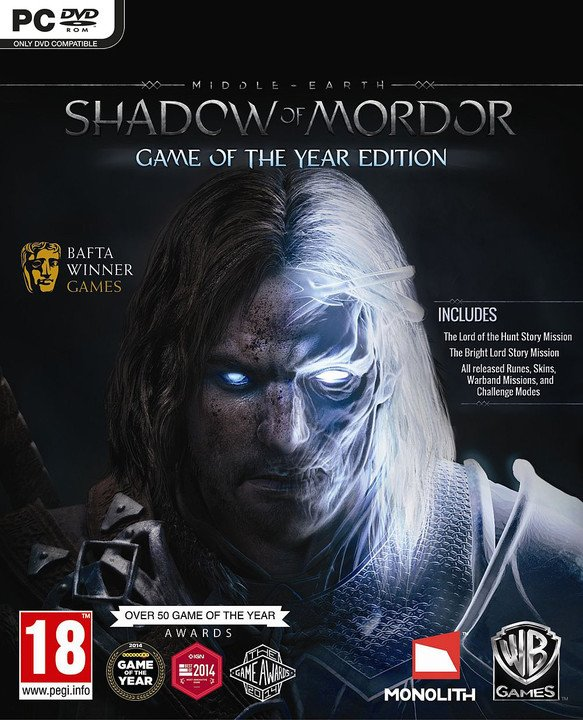 Middle Earth: Shadow of Mordor Game of The Year Edition (PC)