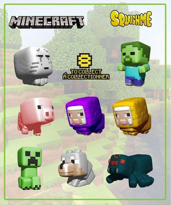 Figurka Minecraft - Squisme, 1.série, náhodný výběr