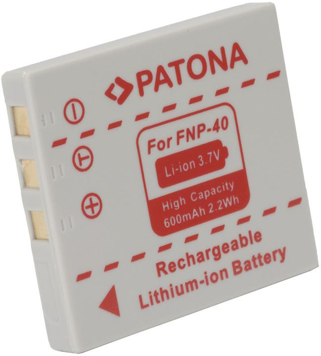 Patona baterie pro Fuji NP-40 600mAh