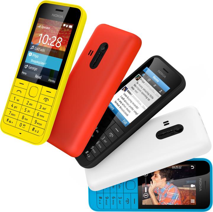 Nokia 220, černá