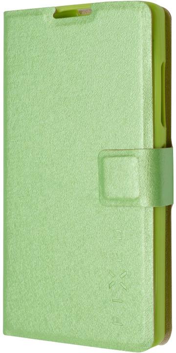 FIXED flipové pouzdro pro Lenovo A2010, zelená