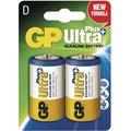 GP Ultra Plus, alkalická, D 2ks
