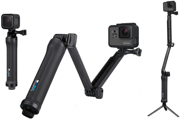GoPro 3-Way Grip | Arm | Tripod