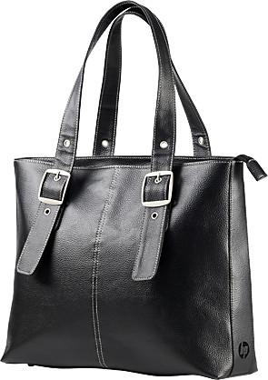 HP Ladies Leather Tote, černá