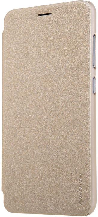 Nillkin Sparkle Folio pouzdro pro ASUS Zenfone 3 Max ZC553KL - zlaté