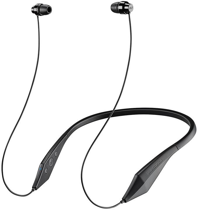 Plantronics Backbeat 100 stereo headset, bluetooth v 4.1, černá