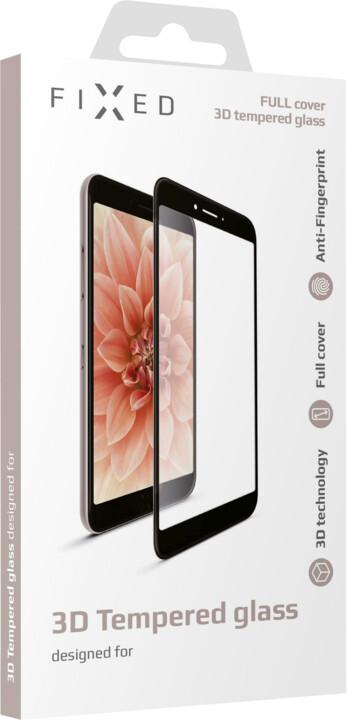 FIXED ochranné tvrzené sklo Full-Cover pro Honor 20, lepení přes celý displej, černá