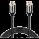 MAX MHC4201B kabel HDMI 2.0b 2.0 opletený, pozlacený 2m, černá