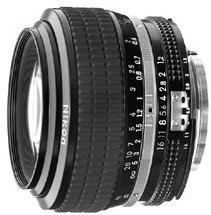 Nikon objektiv Nikkor 50MM F1.2 A