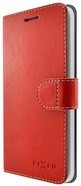 FIXED FIT pouzdro typu kniha pro Huawei P9 Lite Mini, červené