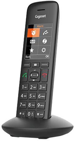 Gigaset C570HX, bezdrátový, DECT sluchátko, černá
