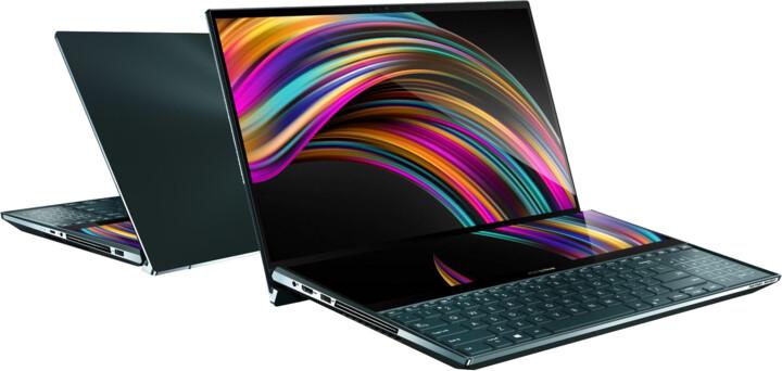 ASUS ZenBook Pro Duo UX581LV, modrá