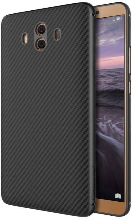 Nillkin Synthetic Fiber ochranný zadní kryt pro Huawei Mate 10 Pro, Carbon Black
