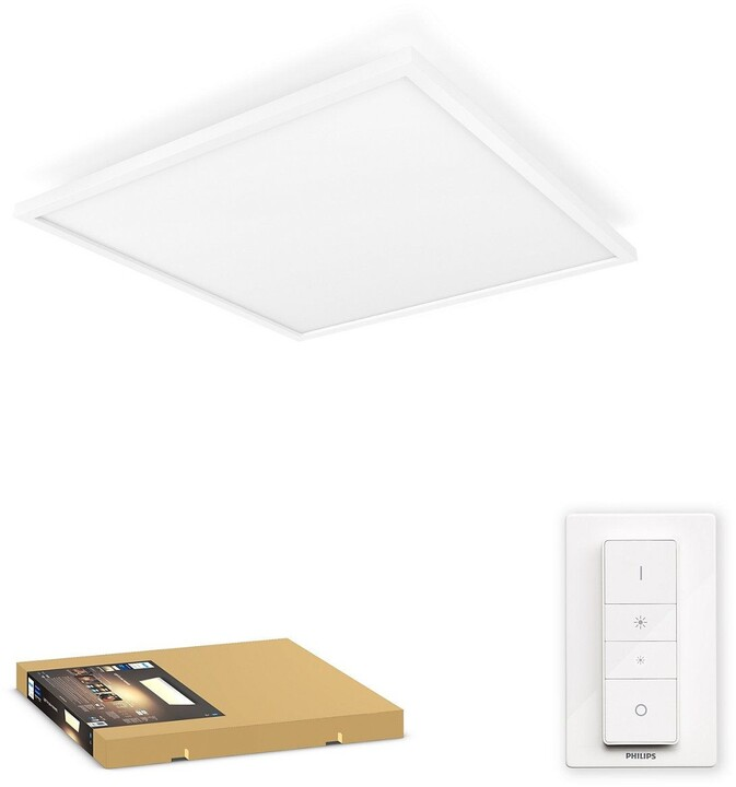 Philips stropní svítidlo Aurelle, LED, Bluetooth, 46,5W, 4200ml, bílá