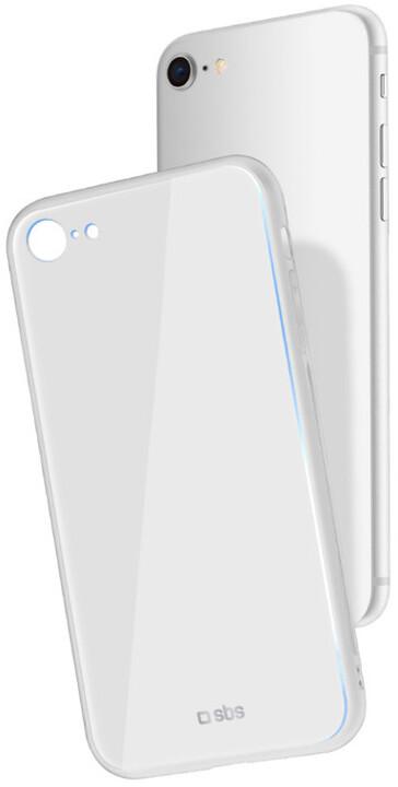 SBS Pouzdro pro iPhone 8/7, bílá