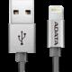 ADATA Synchronizační a napájecí kabel, USB, MFi (iPhone, iPad, iPod), 1m, Titanium