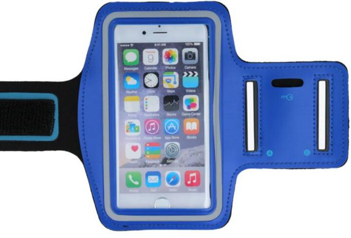 "Forever pouzdro na ruku pro smartphone 6.0"", modrá"